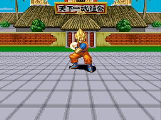 Screenshot Thumbnail / Media File 1 for Dragon Ball Z - Ultime Menace (France) [En by Aeon Genesis v1.0] (~Dragon Ball Z - Super Butouden 3) (Incomplete)